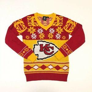 NFL Team Apparel Kansas City Chiefs Sweater